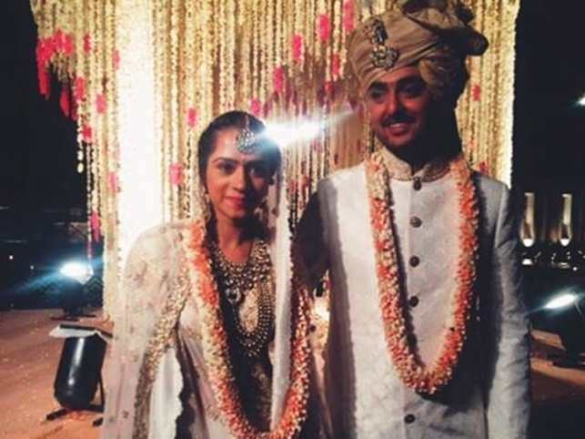 The wedding took place in Udaipur at a luxury hotel and was kept intimate, with close friends and family in attendance. (Image: Instagram)