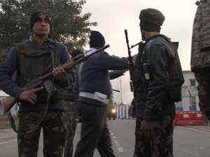 BSF has alerted Pathankot district police after spotting three to five suspects in Pakistan side near Indo-Pak border here.