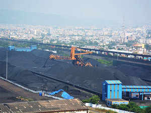Coal India is being forced to cut or stop production because there's a limit on the volume of coal that can be stocked at any single location.