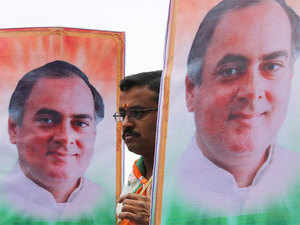 Interestingly, BJP, the major party in National Democratic Alliance, hasn't replaced Rajiv Gandhi's name with names of its own political favourites.