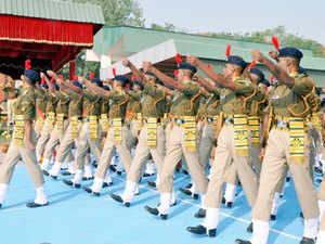 ITBP has issued a set of social media usage directives to its personnel asking them to refrain from making comments on political issues.  In pic: Passing out parade of ITBP Constable GDs.