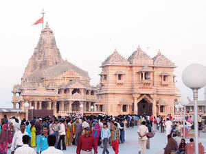 Gujarat DGP P C Thakur held a meeting with NSG officials in Gandhinagar and announced that one team will be sent to step up security at Somnath temple.