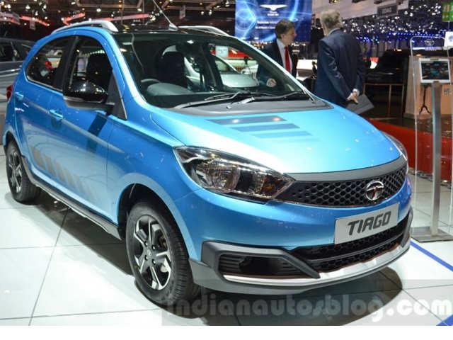 Tata Motors Showcases Tata Tiago At 2016 Geneva Motor Show Tata