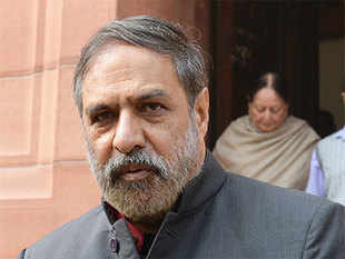 Congress leader Anand Sharma today filed his nomination for the lone Rajya Sabha seat in his home state Himachal Pradesh.