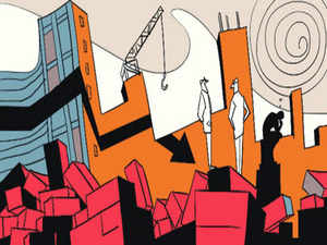 After waiting almost 10 years, 83 people who invested in Media Majestic Towers in Kaushambi area of Ghaziabad near New Delhi brought in a third-party contractor.