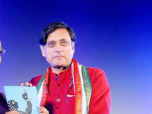 """Describing the union budget as a 'name changing exercise', Congress MP Shashi Tharoor said there are """"alarming contradictions"""" as the budget tries to satisfy the interest of Modi as well as rating agency Moody's."""