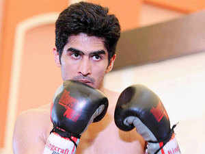 Indian boxing star Vijender Singh would look to ensure that his winning streak remains intact when he takes on Hungarian Alexander Horvath in his fourth professional bout here tomorrow.