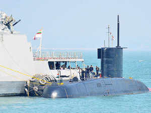 The Navy today said it is waiting for the new DPP to roll out before proceeding on the much delayed project to build India's next six conventional submarines, worth nearly Rs 60,000 crore.