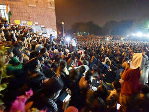 The JNU today revoked the academic suspension of eight students including its students' union president Kanhaiya Kumar in connection with the controversial event at its campus to protest the hanging of Afzal Guru.