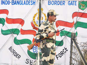 In a first, border guarding forces of India and Bangladesh will hold a joint exercise beginning tomorrow along the International Border they share in the Sunderbans area of West Bengal.