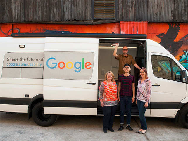 San Francisco Google Is About To Embark On An Old School Search Swing Its Internet Algorithm For A Custom Built Van That Will Cruise Across The Us
