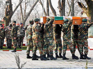 An army jawan from Haryana was today found dead under suspicious circumstances inside a barrack in Karnah sector of Kupwara district in north Kashmir. (Representative image)