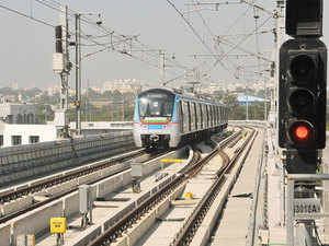 Larsen & Toubro's delayed Rs 16,000 crore metro rail project in Hyderabad is prone to significant risk in terms of the time it will take to complete.
