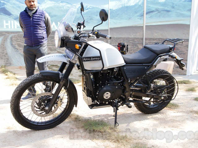 Strong mono shock rear suspension - Royal Enfield launches
