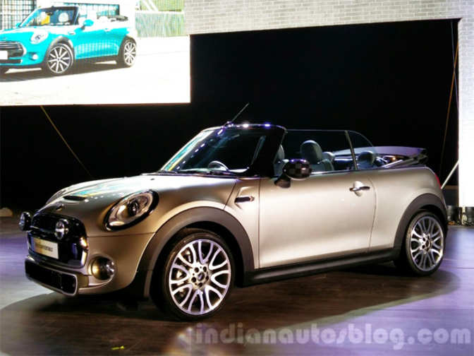 bmw launches all new mini convertible at rs 34 9 lakh. Black Bedroom Furniture Sets. Home Design Ideas