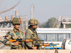 (Representative image) A high-level review meeting for discussing security measures and coordination between army and police forces was held in Pathankot.