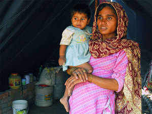 The maternal mortality rate was 208 against the targeted rate of 100 out of 1,00,000 pregnant women, said the CAG report for the year 2015.