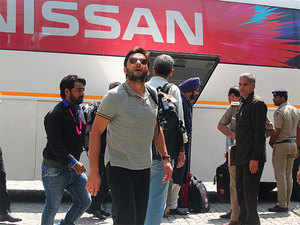 Tight security cover thrown as Pakistan team arrives in ...