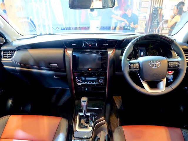 Special Bumpers Trd Sportivo Badge At Back 2016 Toyota Fortuner