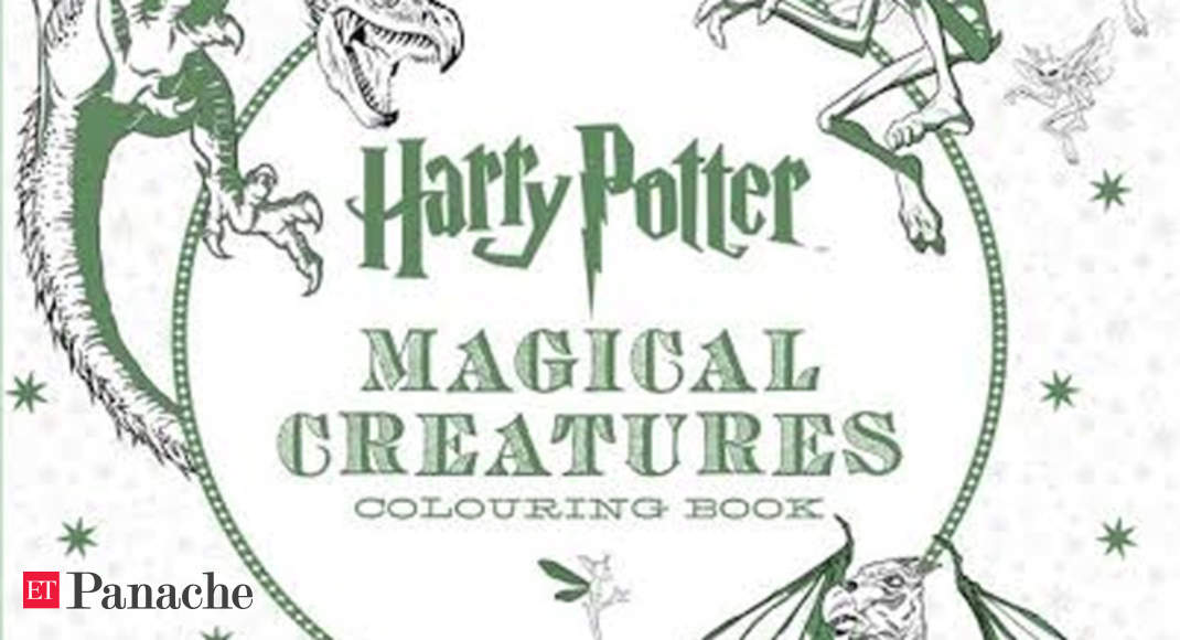 Now Harry Potter Colouring Books For Adults To Beat Some Stress