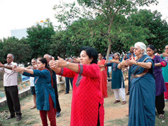 Qigong, which has been gaining popularity among Bengalureans, is a health exercise that focuses on a healthy and long life.