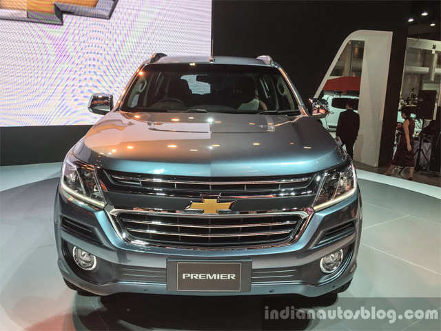 2016 Chevrolet Trailblazer Premier Facelift Unveiled At Bangkok
