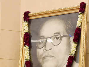 Ambedkar will share the pride of place in the BJP's iconography with Hindu nationalists SP Mookerjee and Deendayal Upadhyaya.