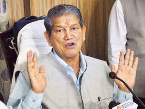 "Even though he called the video ""false"",  Uttarakhand chief minister said if at all it indicates something, it is that the rebel MLAs have aligned with BJP for money."