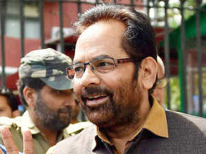 "Naqvi lashed out at ruling Samajwadi party in Uttar Pradesh saying the ""atrocities"" committed against people by it will pave the way for BJP's win in 2017 Assembly election."