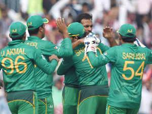 Pakistan Team Arrives To Hostile Reception The Economic Times