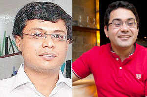 The exchange of barbs between Bansal and Bahl was emblematic of the significant pressure they are under with investors' becoming tightfisted.