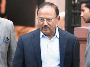 """India, Doval said, """"shared many concerns, particularly concerns about terrorism, concerns about the cyber space and we'll be working together on that."""""""