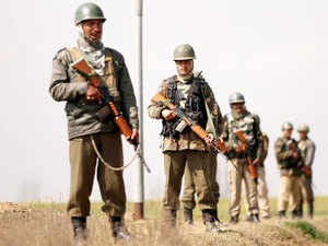 India faces threats on a regular basis from hostile neighbourhood, a top intelligence official said today.