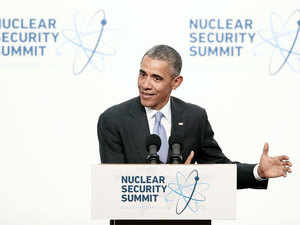 Obama on Friday counselled India and Pakistan to contain aggressive military doctrines and nuclear arsenals as he wrapped up the fourth Nuclear Security Summit