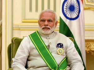 In a special gesture, Saudi Arabia conferred its highest civilian honour -- the King Abdulaziz Sash -- on Prime Minister Narendra Modi.