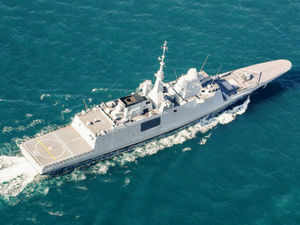 Indian naval ships Tir and Sujata, and sail-training ship Sudarshini along with Indian Coast Guard's Varuna, reached Phuket in Thailand today as part of an overseas deployment during spring.