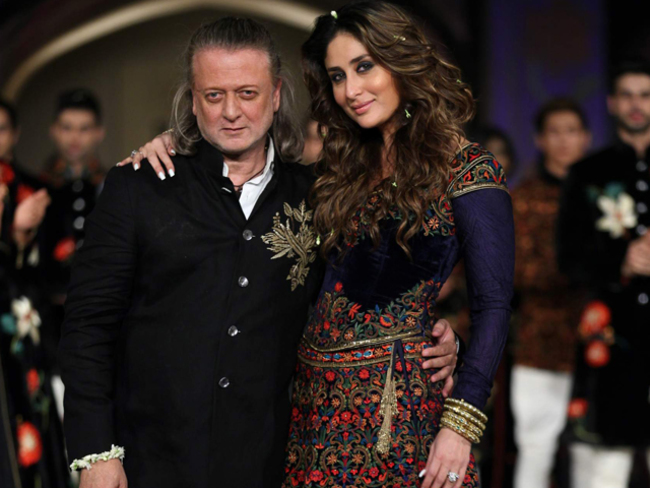 Style Meets Tradition At Rohit Bal S Collection Launch In Mumbai The Economic Times