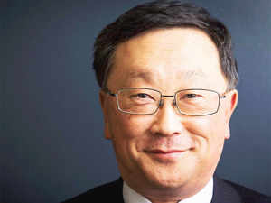 BlackBerry CEO John Chen counting India among the countries that will be key to the company's next phase of revival.