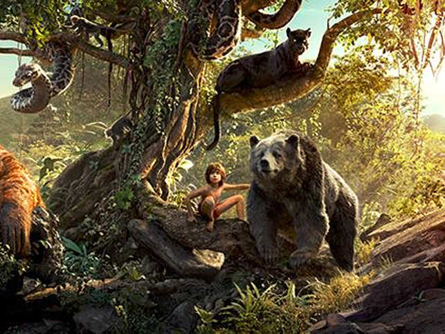 A tonal shift has taken place in this iteration of Mowgli's adventure. It is not a child's story. It's about the laws of the jungle.