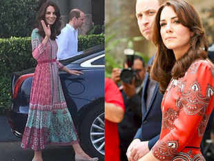 Kate, 34, known for being a trend-setter, generally prefers British designers including McQueen, Stella McCartney and Erdem.
