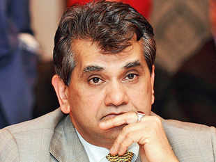 CEO Amitabh Kant made several presentations to the prime minister last month on sectors such as education, health, rural development and infrastructure.