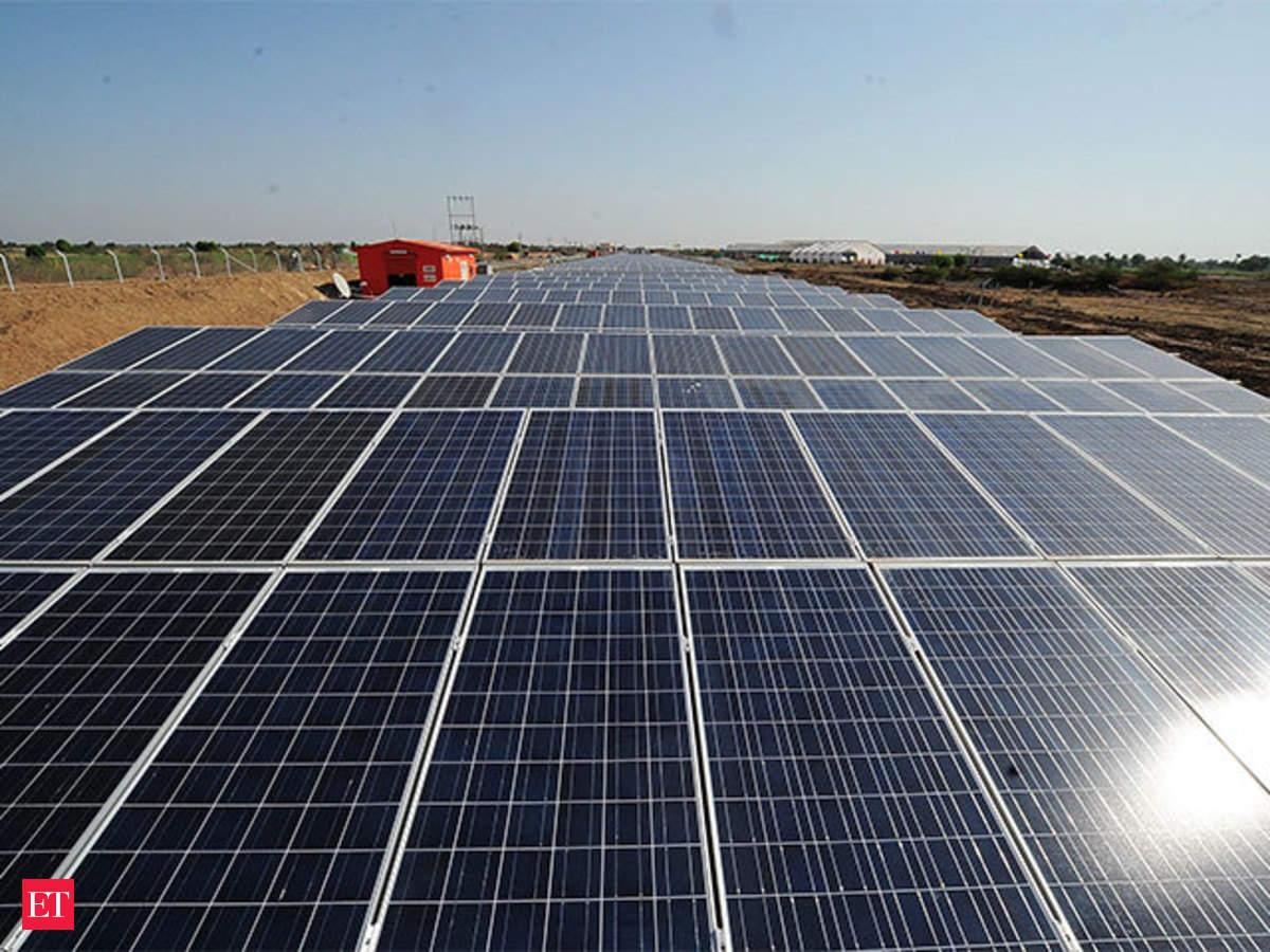 Dial Triples Solar Power Plant Capacity At Indira Gandhi Saver Fraud International Airport The Economic Times