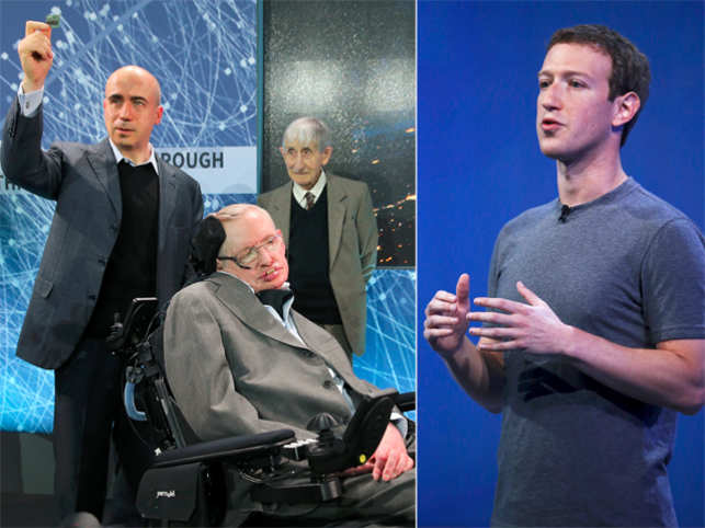 Stephen Hawking, Yuri Milner & Mark Zuckerberg to launch