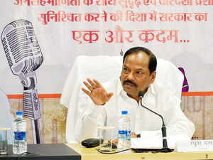 Jharkhand Chief Minister Raghubar Das launched the 'Bhimrao Ambedkar Awas Yojana' for widows today, the 125th birth anniversary of B R Ambedkar.