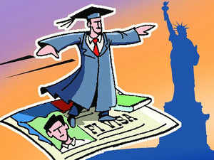 The sticky matter of H-1B visas once again featured in talks when finance minister Arun Jaitely met US trade representative Michael Froman.