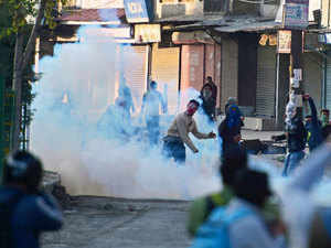 (Representative image) Protests rocked many places in Kupwara and its adjoining areas to mark the fourth day of death of three persons who were killed in firing by security forces in Handwara.