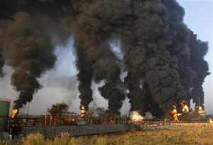 Fire at IOC's fuel depot, Jaipur
