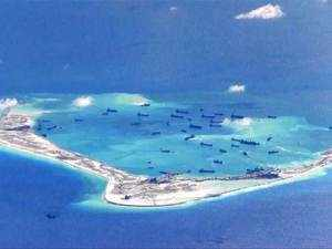 """Resolutely opposing"""" US joint patrols with the Philippines in the disputed South China Sea, China said it has """"poisoned"""" regional ties by stoking tensions over the strategic waters."""
