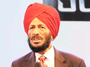 Milkha Singh graced the occasion and addressed one of the largest such celebration, calling on the community to educate the young generation about the significance of Sikh culture.
