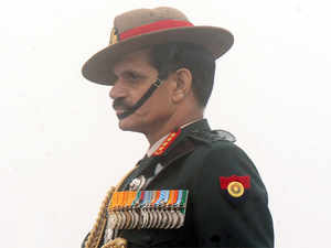 Army Chief General Dalbir Singh on Sunday arrived in the state to take stock of the security situation.
